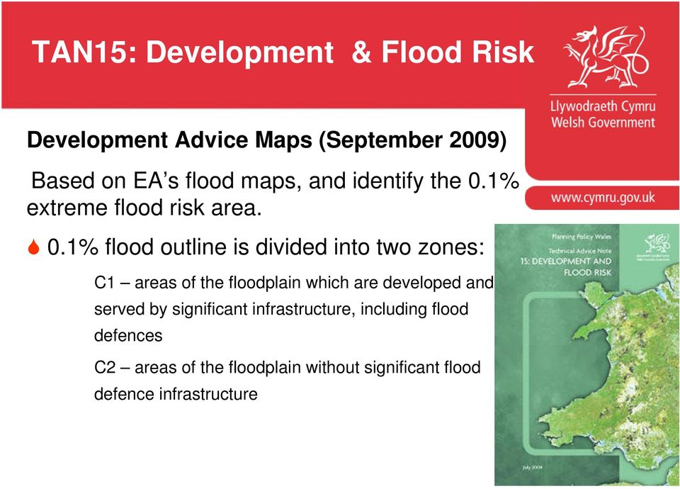 1% extreme flood risk area. 0.