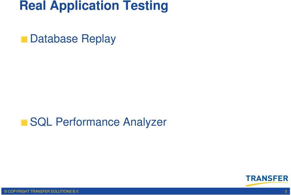 Performance Analyzer