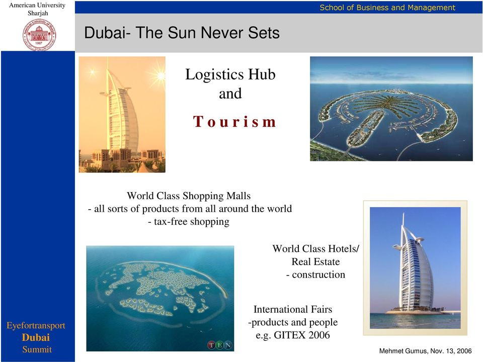 the world - tax-free shopping World Class Hotels/ Real Estate -