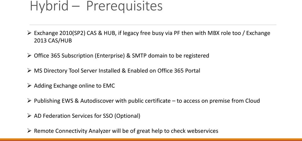 on Office 365 Portal Adding Exchange online to EMC Publishing EWS & Autodiscover with public certificate to access on