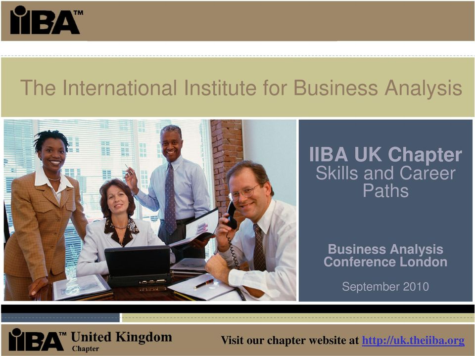 Paths Business Analysis Conference London