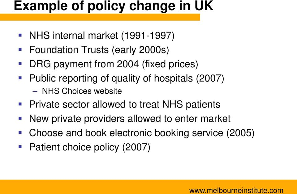 NHS Choices website Private sector allowed to treat NHS patients New private providers