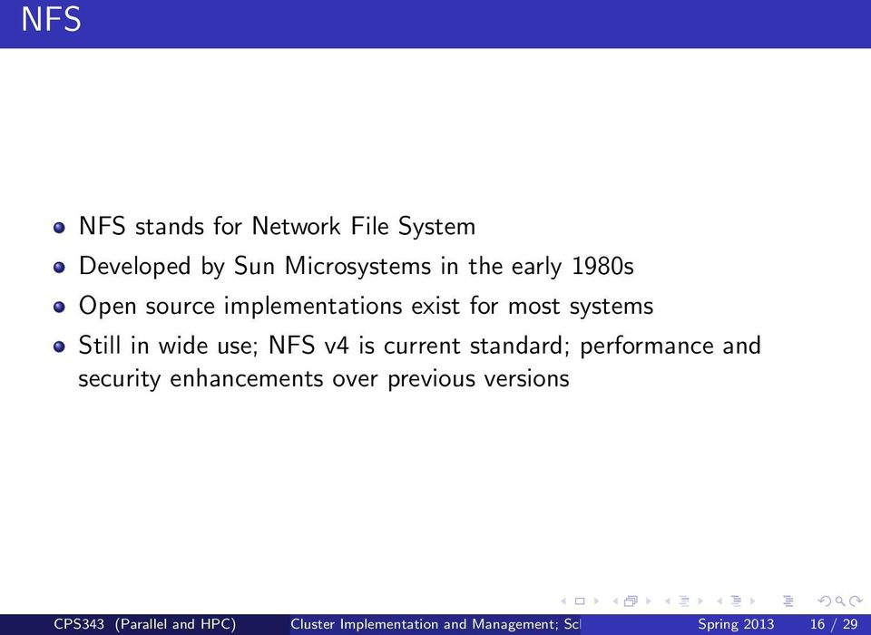 current standard; performance and security enhancements over previous versions CPS343