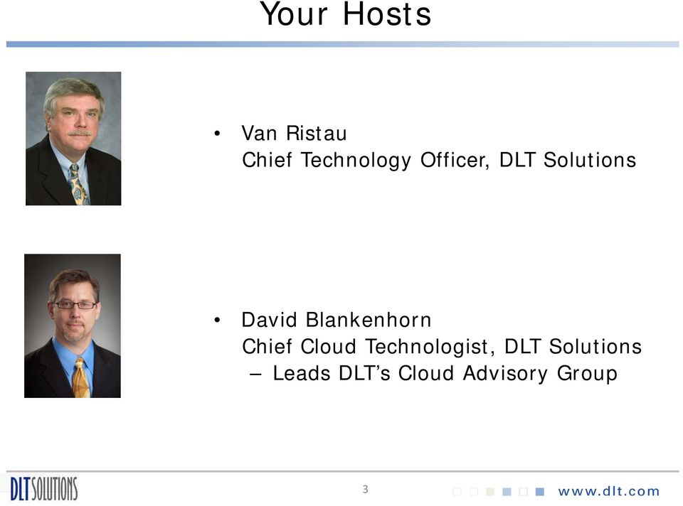Blankenhorn Chief Cloud Technologist,