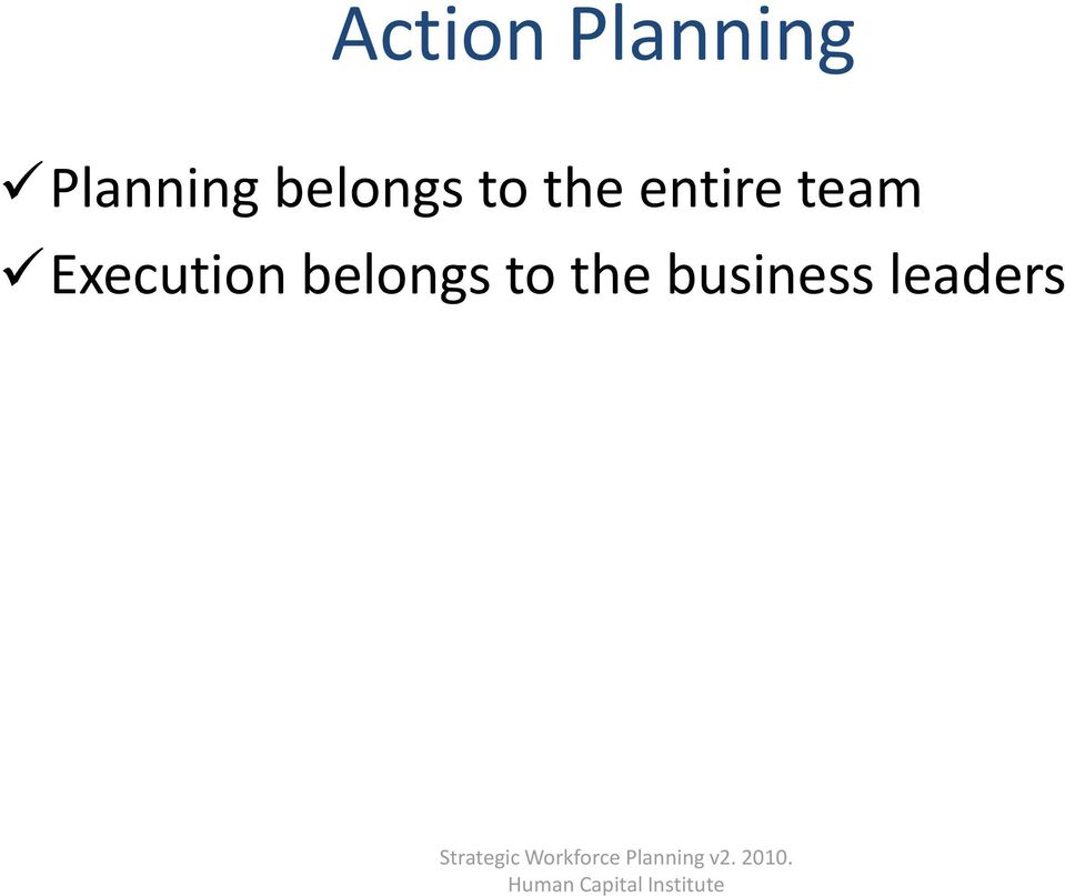 the business leaders Strategic