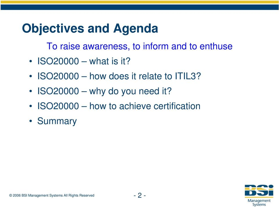 ISO20000 how does it relate to ITIL3?