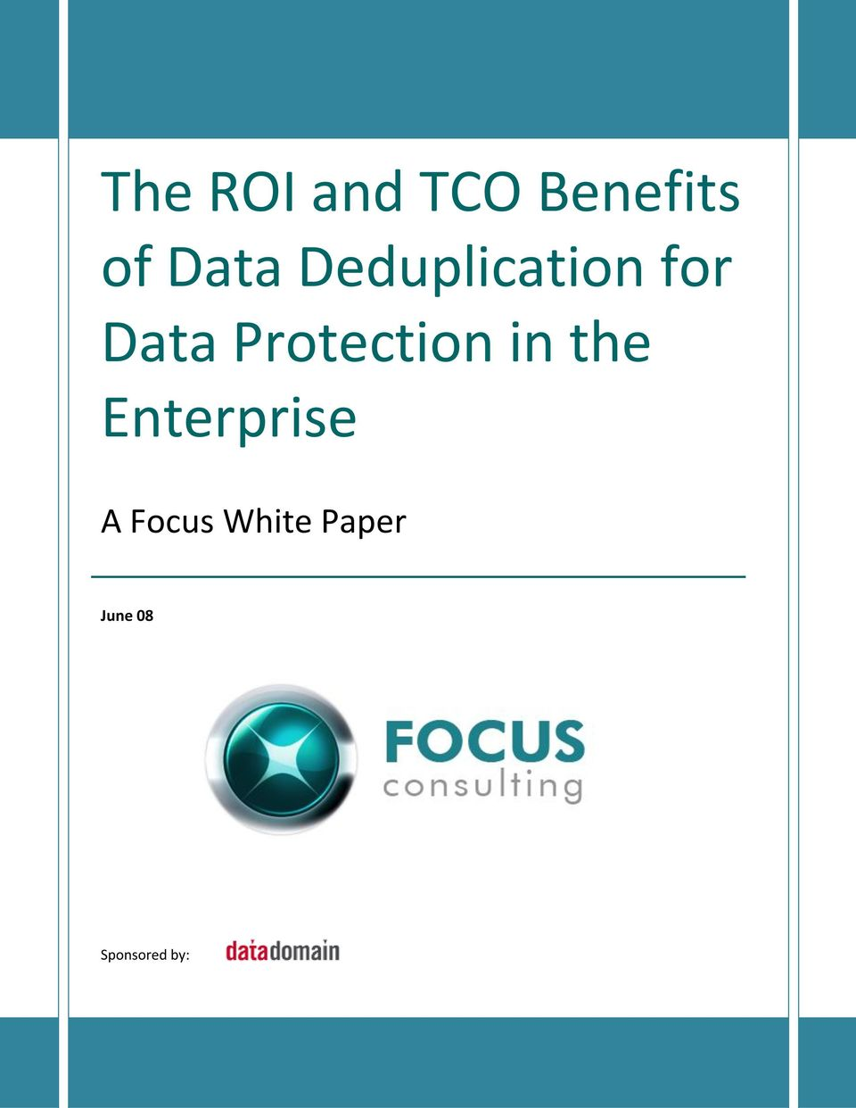 Enterprise A Focus White Paper June 08