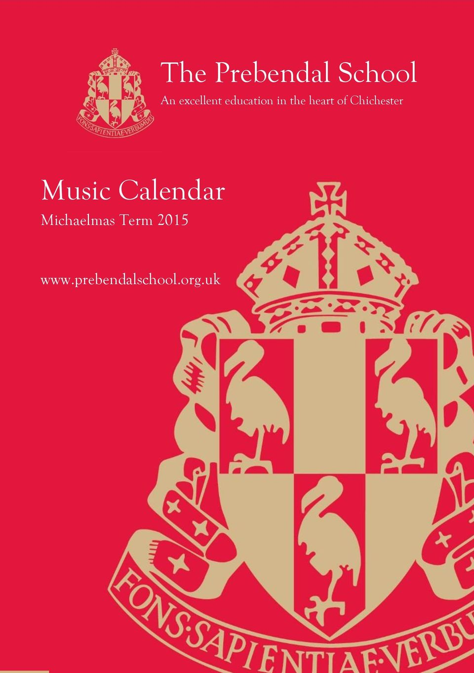 Chichester Music Calendar