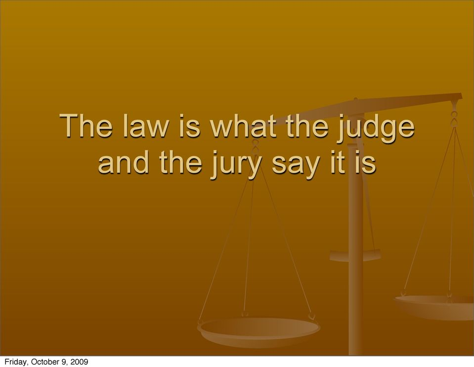 judge and