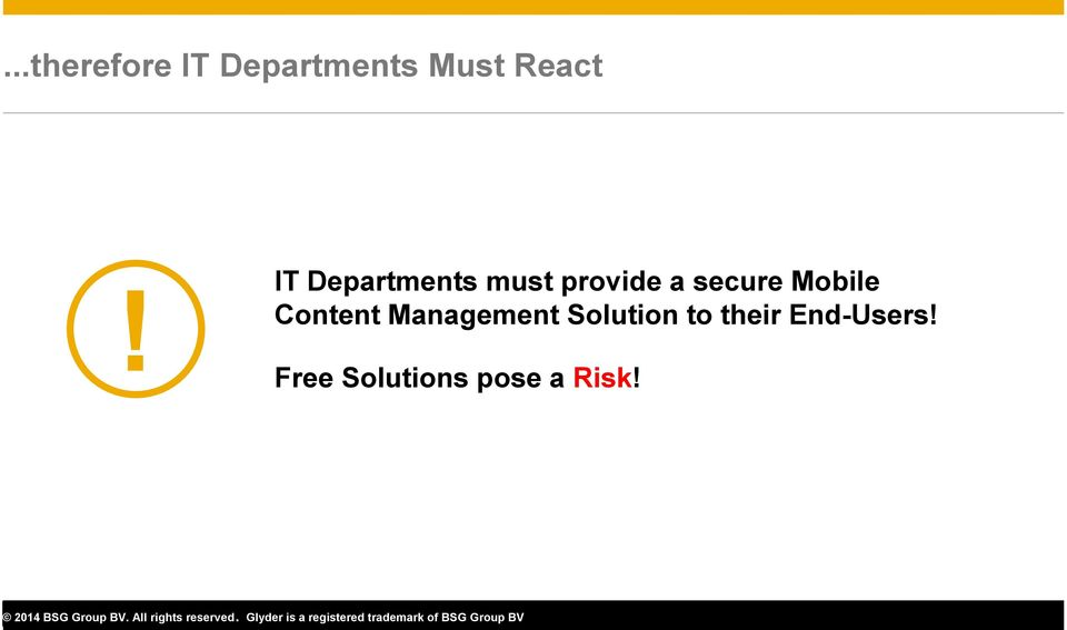 Mobile Content Management Solution to