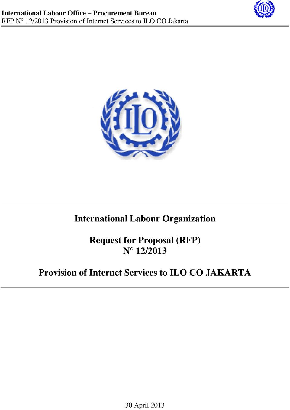 12/2013 Provision of Internet