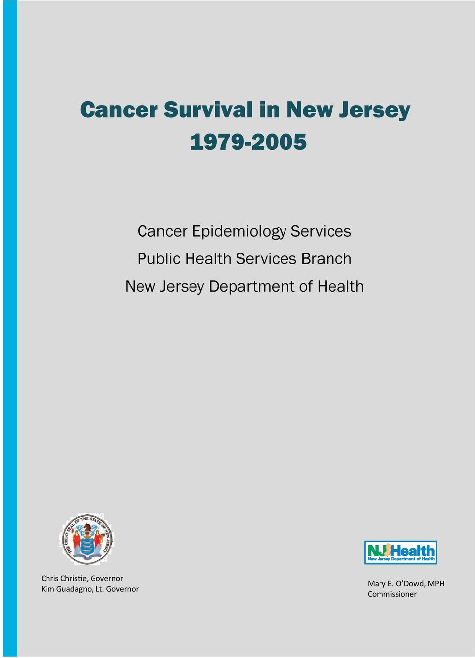 New Jersey Department of Health Chris Chris e,