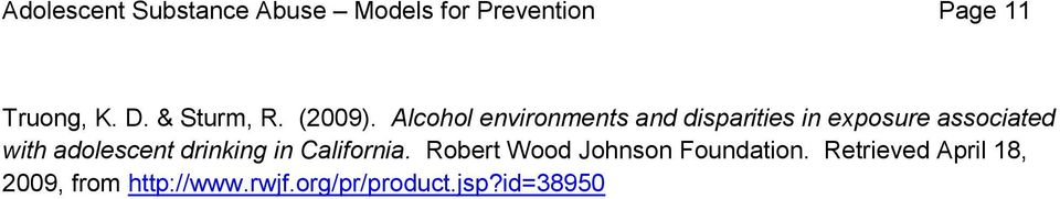 Alcohol environments and disparities in exposure associated with