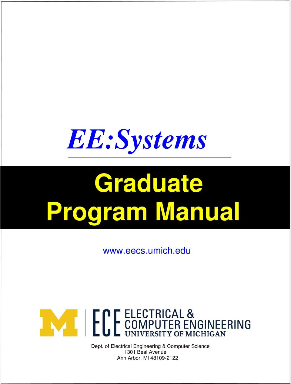 of Electrical Engineering & Computer