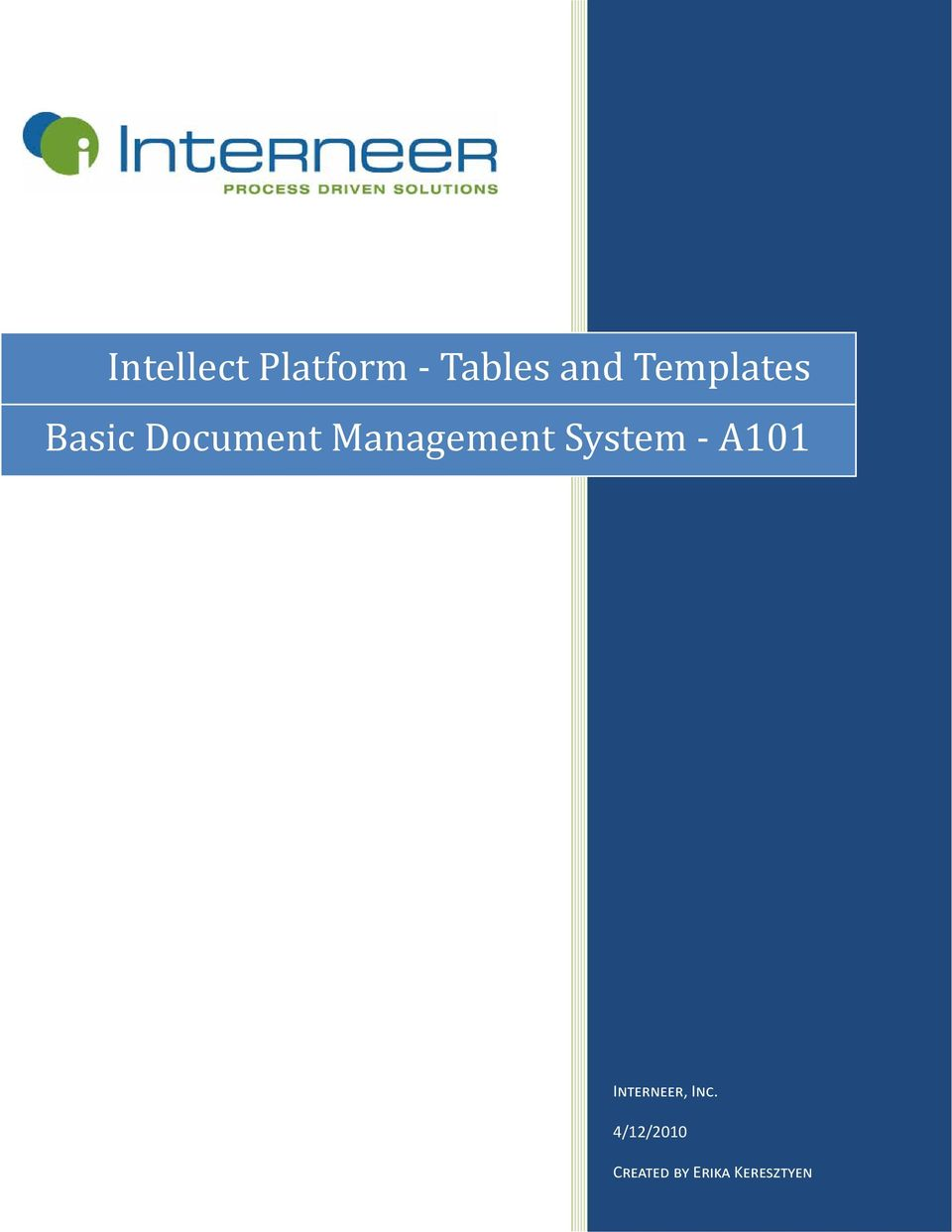 Management System - A101