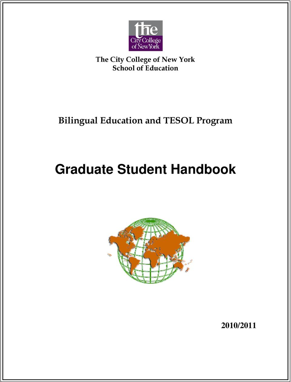 Education and TESOL Program