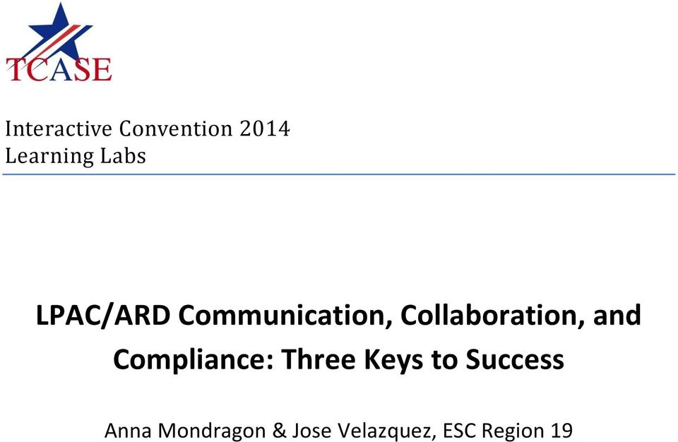 and Compliance: Three Keys to Success