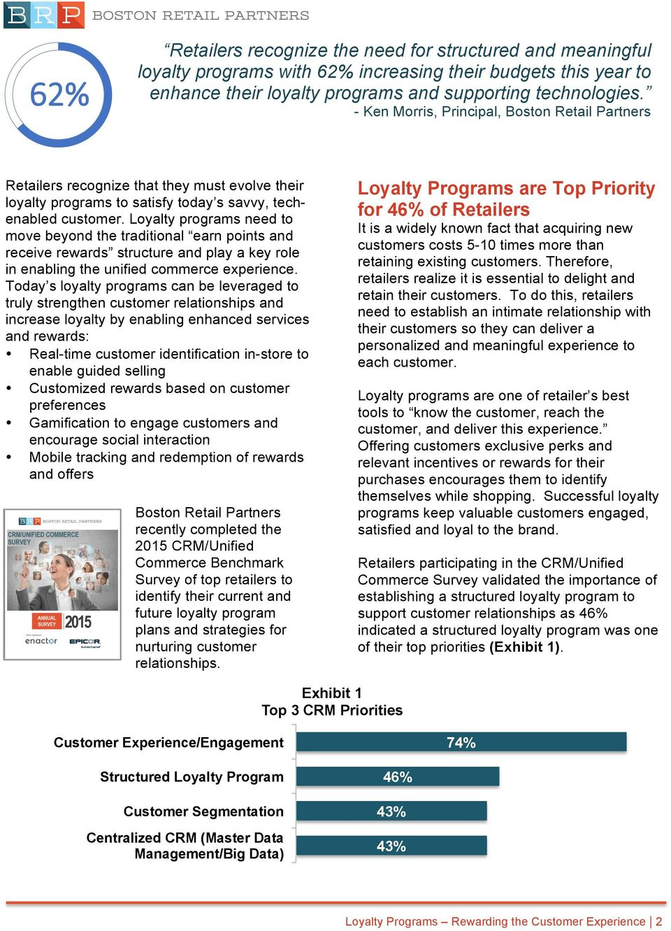 Loyalty programs need to move beyond the traditional earn points and receive rewards structure and play a key role in enabling the unified commerce experience.