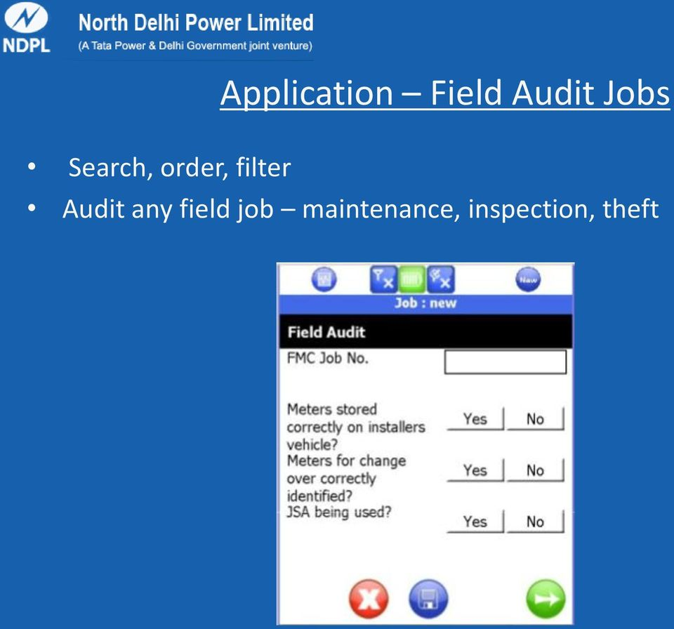 Jobs Audit any field job