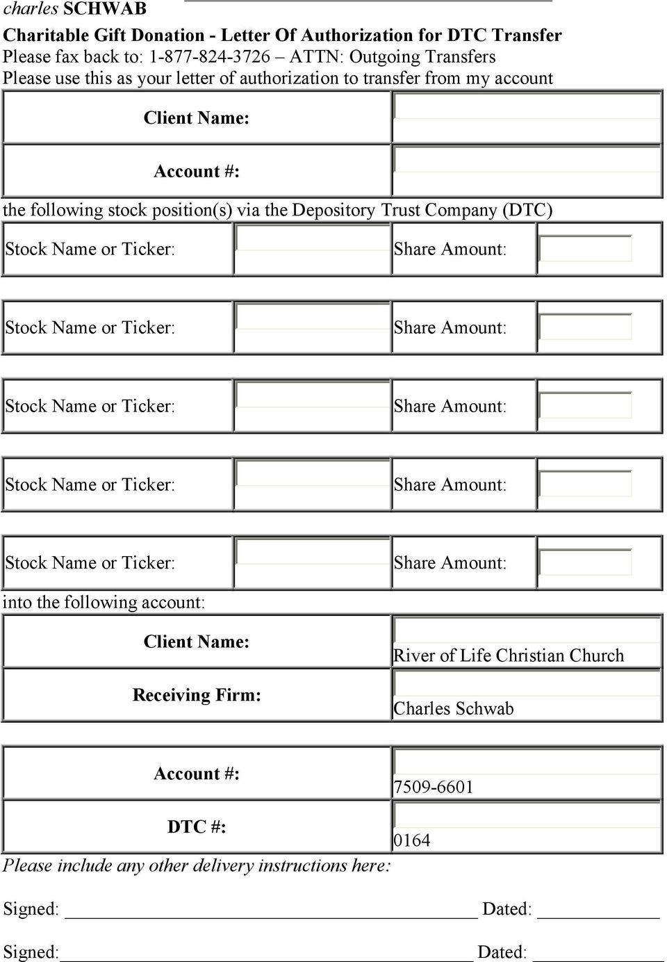 Non restrictive stock donation and stock disposition guideline pdf positions via the depository trust company dtc into the following account spiritdancerdesigns Images