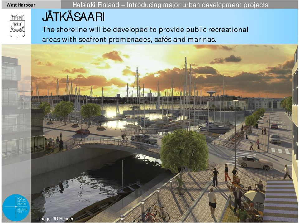 recreational areas with seafront