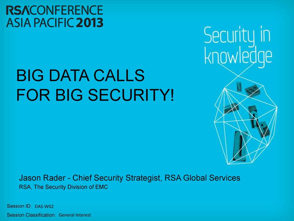Global Services RSA, The Security Division of