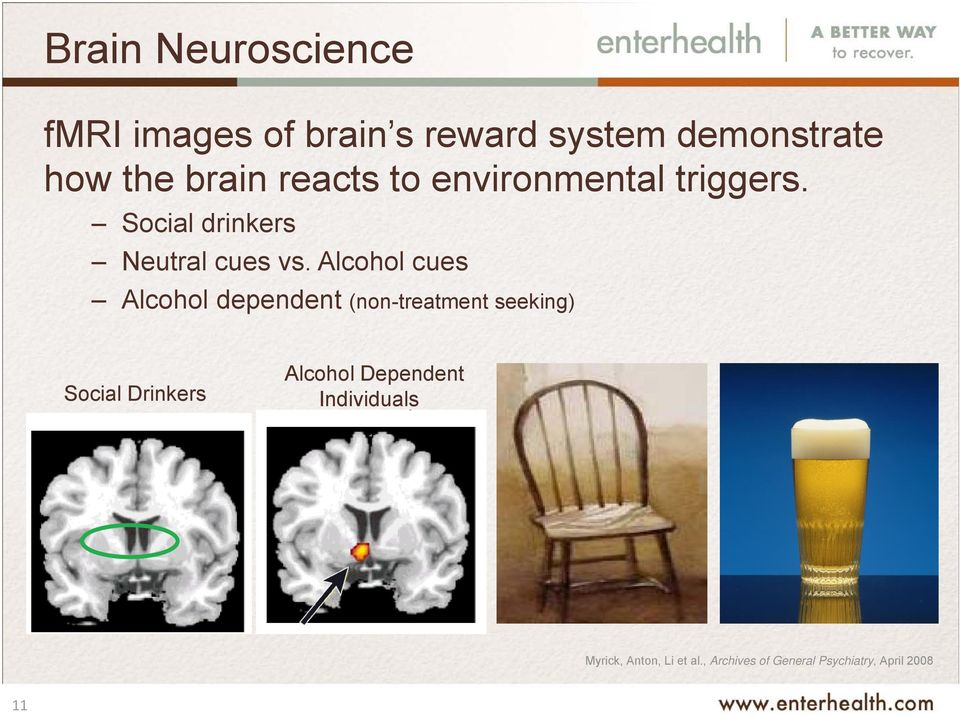 Alcohol cues Alcohol dependent (non-treatment seeking) Social Drinkers Alcohol