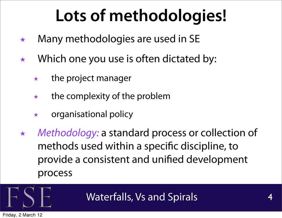 project manager the complexity of the problem organisational policy