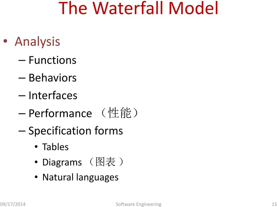 Specification forms Tables Diagrams ( 图 表 )
