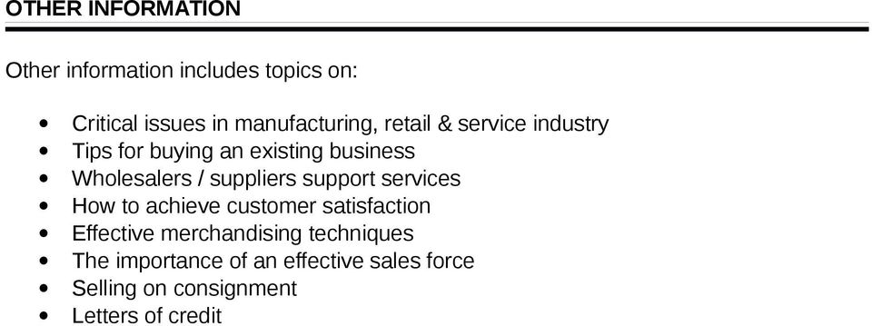 Wholesalers / suppliers support services How to achieve customer satisfaction Effective