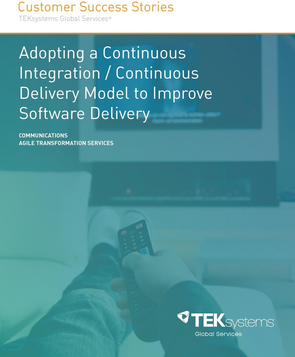 Continuous Delivery Model to Improve Software