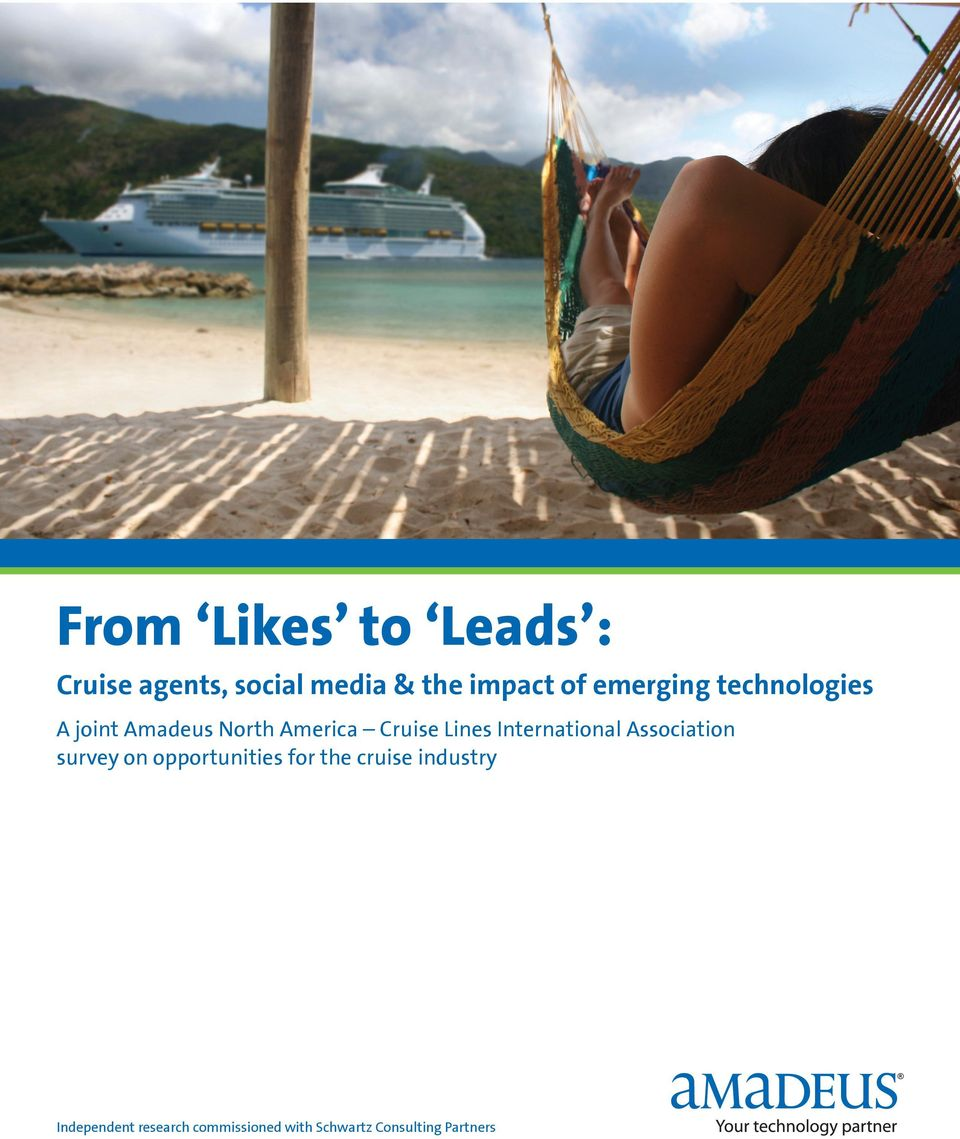 International Association survey on opportunities for the cruise