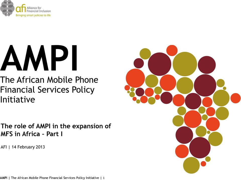 2013 AMPI The African Mobile Phone