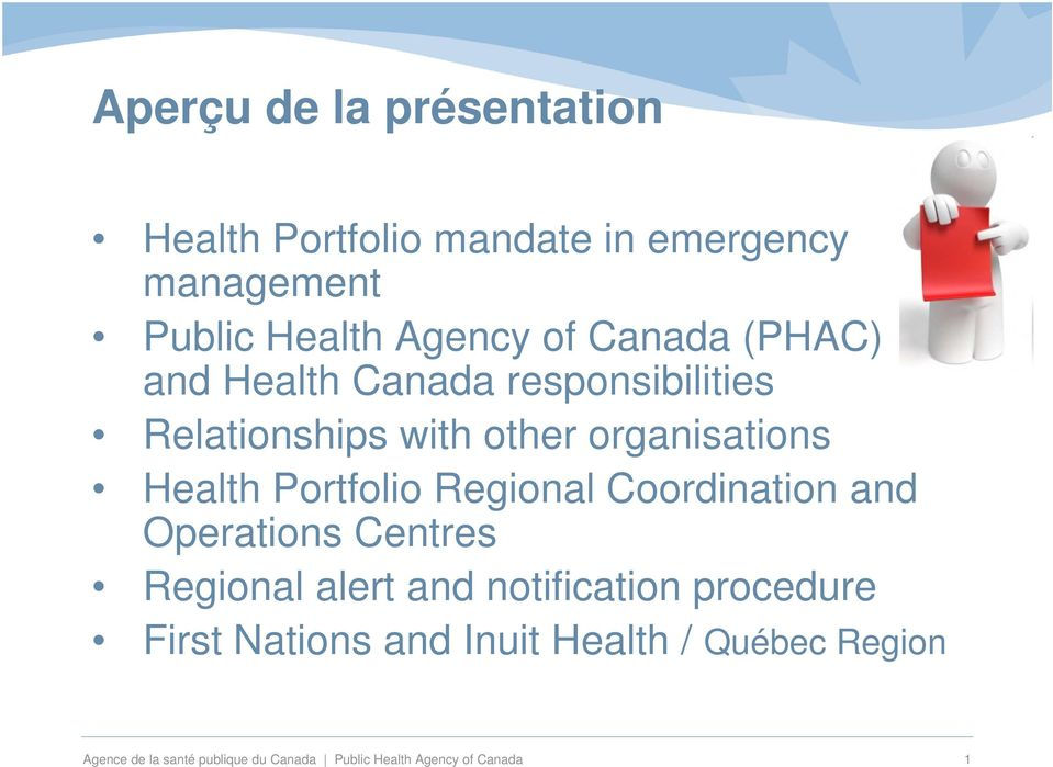 Portfolio Regional Coordination and Operations Centres Regional alert and notification procedure