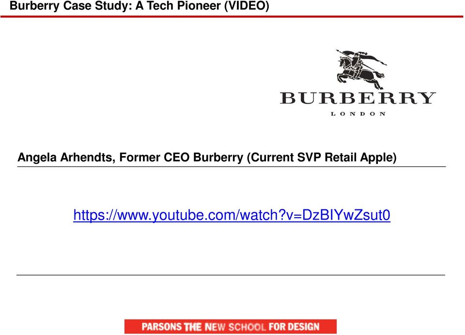 Burberry (Current SVP Retail Apple)