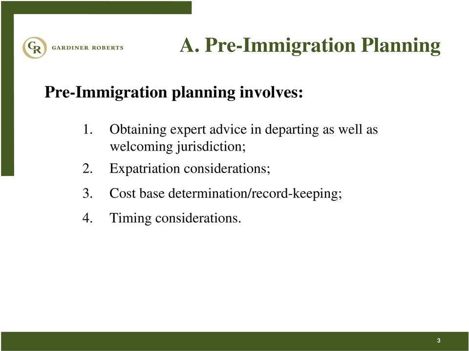 Tax Planning for New Immigrants and Returning Residents - PDF