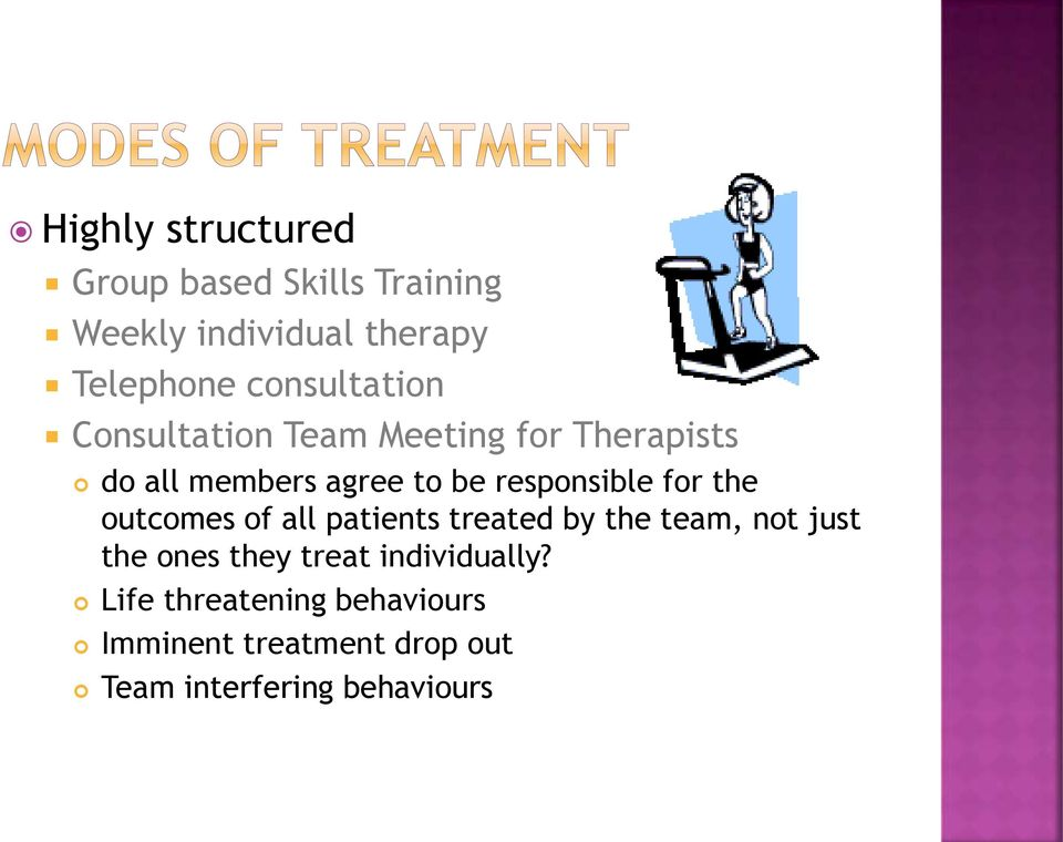 responsible for the outcomes of all patients treated by the team, not just the ones they
