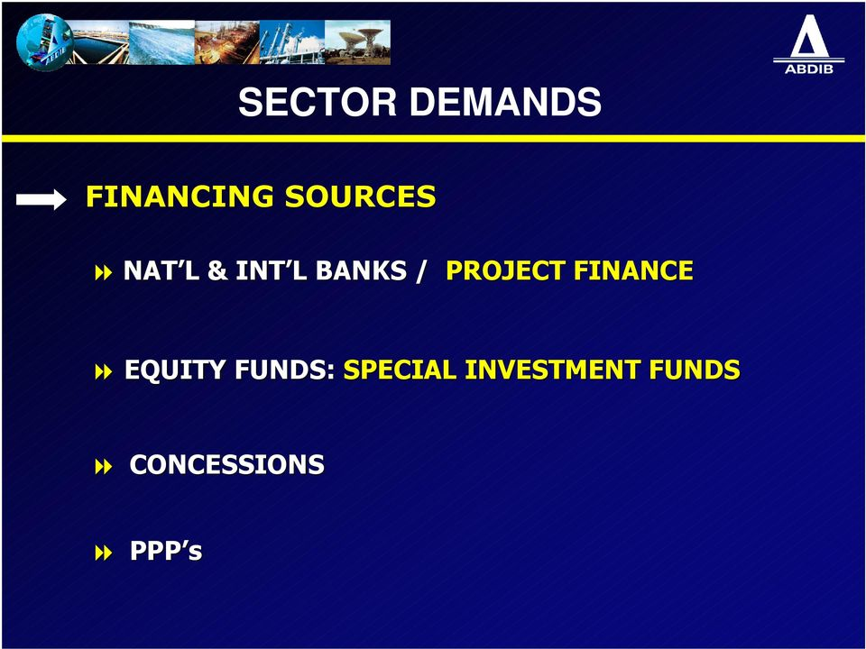 PROJECT FINANCE EQUITY FUNDS: