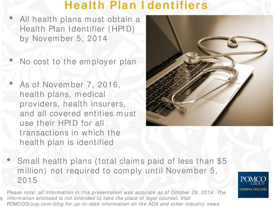 and all covered entities must use their HPID for all transactions in which the health plan is identified