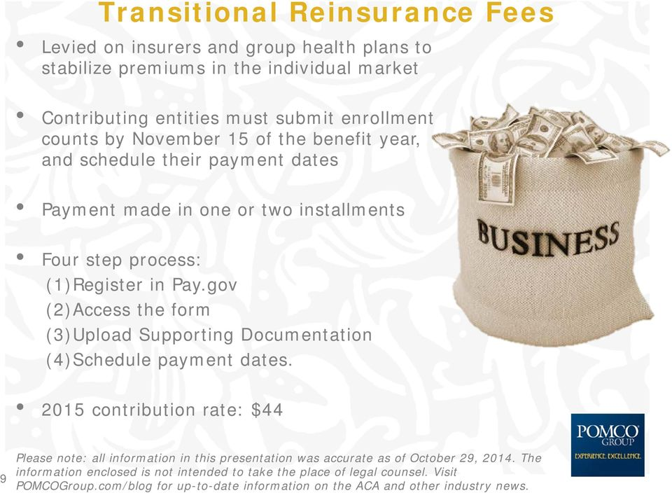 and schedule their payment dates Payment made in one or two installments Four step process: (1)Register in