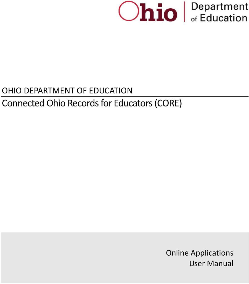 Records for Educators