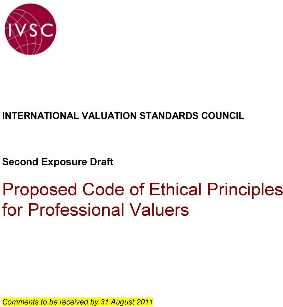 Ethical Principles for Professional