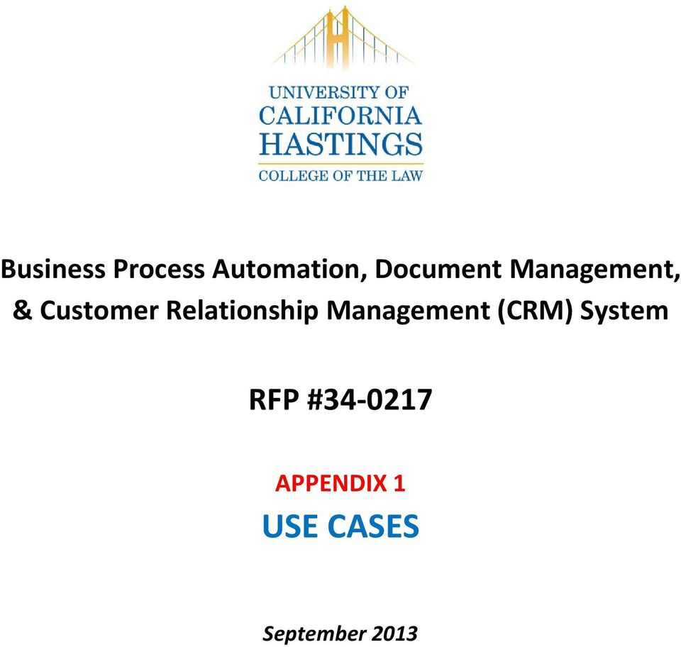Relationship Management (CRM) System