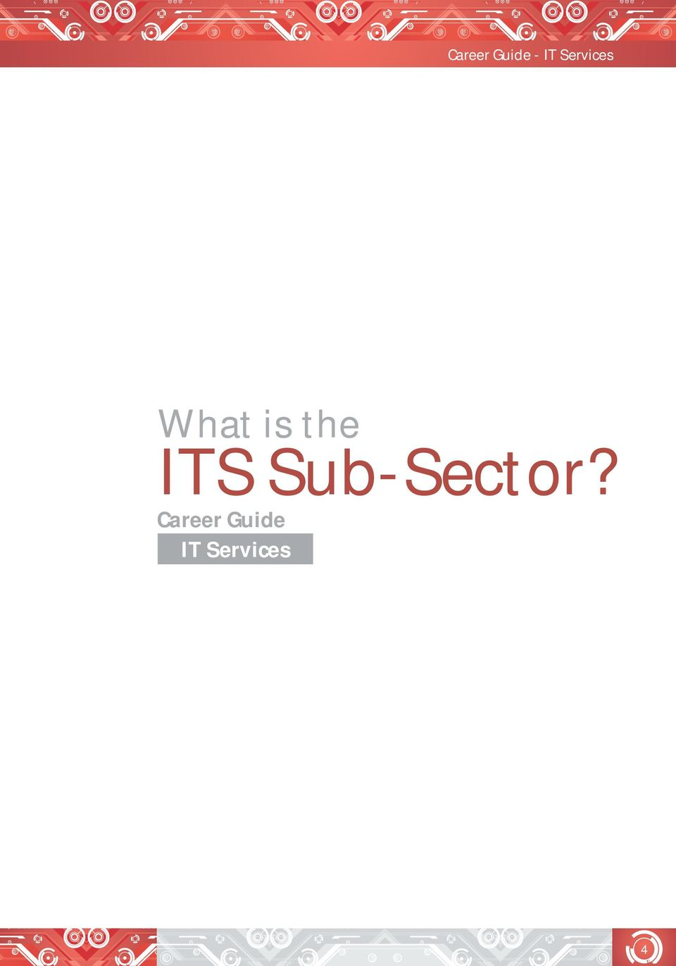 ITS Sub-Sector?