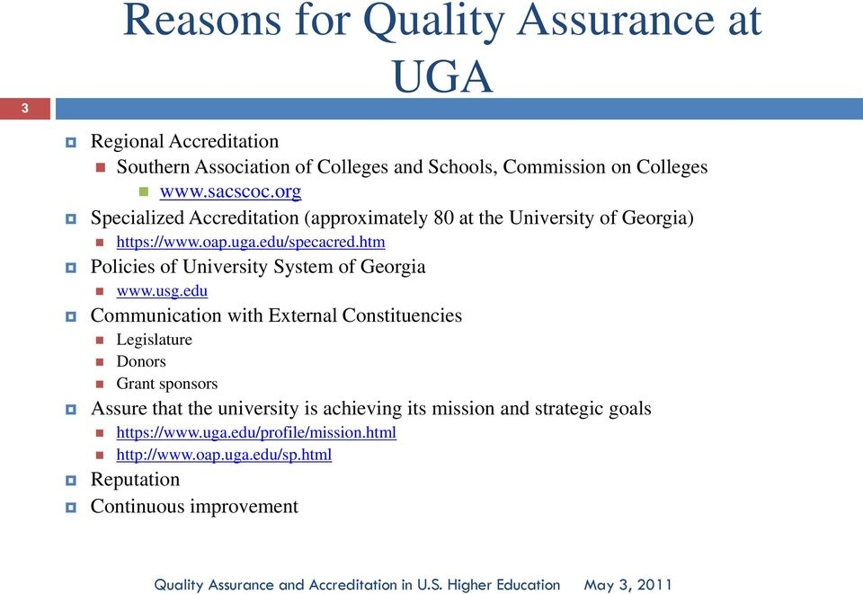 htm Policies of University System of Georgia www.usg.