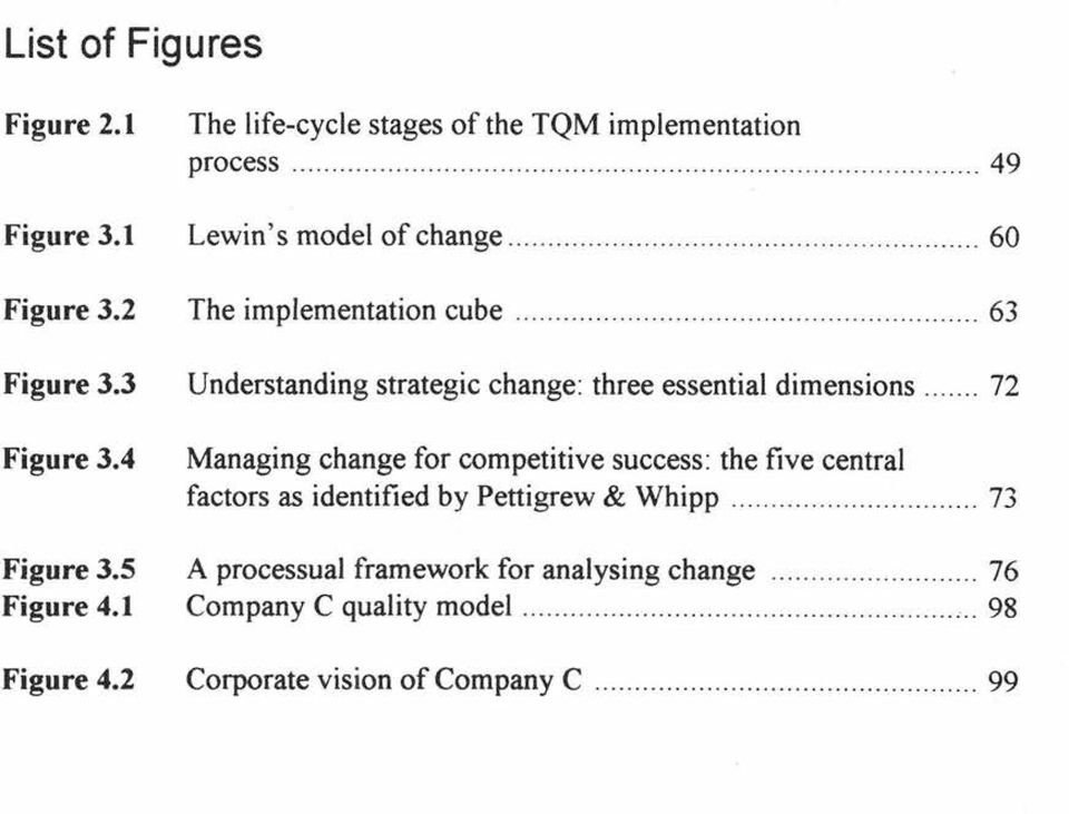 .............. 60 The implementation cube.................... 63 Understanding strategic change: three essential dimensions.