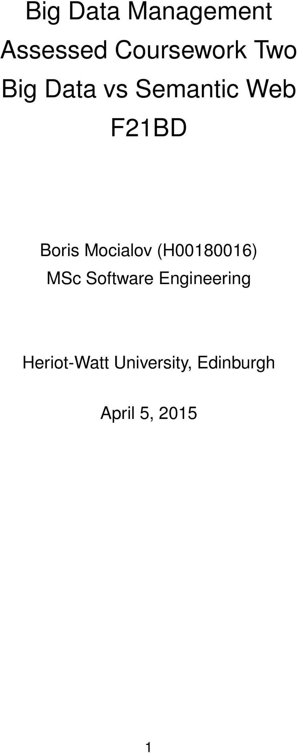 Mocialov (H00180016) MSc Software