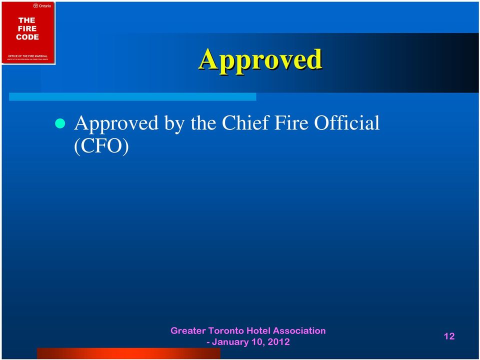 Fire Official