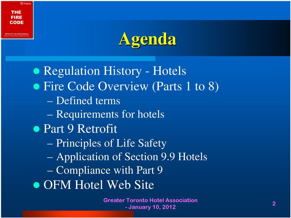 Part 9 Retrofit Principles of Life Safety Application of