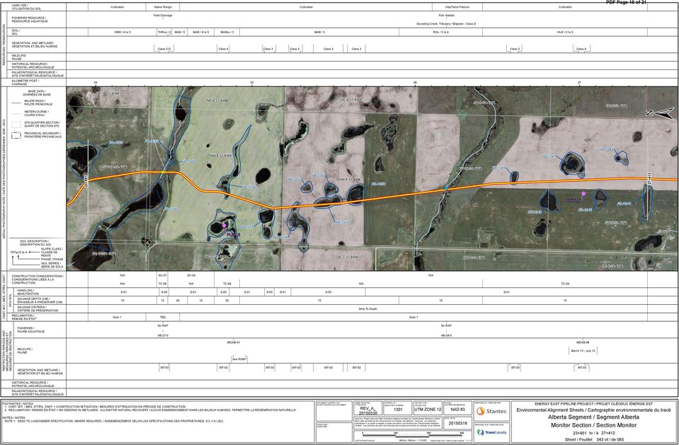 Drainage Fish Habitat S ounding Creek,T ributary /Mapped -Class D HMS /4to5 T HR sa /2 MAB/5 MAB/4to5 MABsc /3 MAB/3 R OL/3to4 HK /2to3 Class 3-D Class 4 Class 3 Class 3 Class 3 Class 3 Class 3 Class
